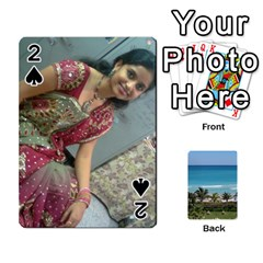 Playing Card 2 By Saurabh   Playing Cards 54 Designs   Rcahd5eqm91h   Www Artscow Com Front - Spade2