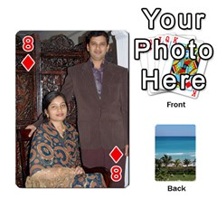 Playing Card 2 By Saurabh   Playing Cards 54 Designs   Rcahd5eqm91h   Www Artscow Com Front - Diamond8