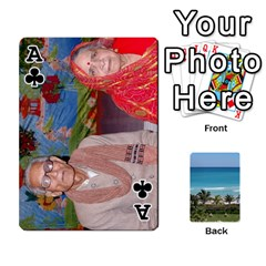 Ace Playing Card 2 By Saurabh   Playing Cards 54 Designs   Rcahd5eqm91h   Www Artscow Com Front - ClubA