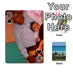 Playing Card 2 By Saurabh   Playing Cards 54 Designs   Rcahd5eqm91h   Www Artscow Com Front - Spade10