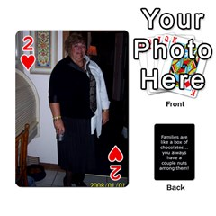 Playcards1 By Cheryl   Playing Cards 54 Designs   Cc2e2qs7lczb   Www Artscow Com Front - Heart2