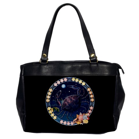 Zodiac Cancer The Crab Oversized Bag By Enkay   Oversize Office Handbag   8e5yand0v0lx   Www Artscow Com Front