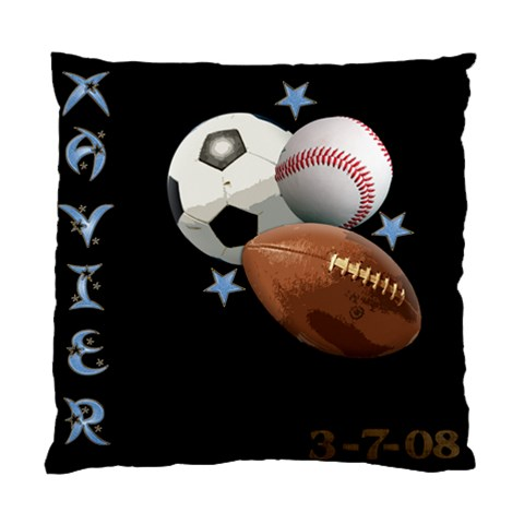 Xavier Pillow Case By Christine Castro   Standard Cushion Case (one Side)   B0xvsewwenaz   Www Artscow Com Front
