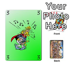 Asterix Battleline Deck1 By Alvise Fiume   Playing Cards 54 Designs   2ehiiyn5dw86   Www Artscow Com Front - Diamond5