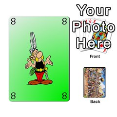 Asterix Battleline Deck1 By Alvise Fiume   Playing Cards 54 Designs   2ehiiyn5dw86   Www Artscow Com Front - Diamond10