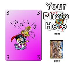 Ace Asterix Battleline Deck1 By Alvise Fiume   Playing Cards 54 Designs   2ehiiyn5dw86   Www Artscow Com Front - DiamondA