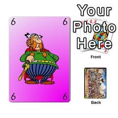 Asterix Battleline Deck1 By Alvise Fiume   Playing Cards 54 Designs   2ehiiyn5dw86   Www Artscow Com Front - Club4