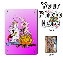 Asterix Battleline Deck1 By Alvise Fiume   Playing Cards 54 Designs   2ehiiyn5dw86   Www Artscow Com Front - Club5