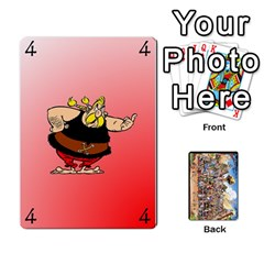 Jack Asterix Battleline Deck1 By Alvise Fiume   Playing Cards 54 Designs   2ehiiyn5dw86   Www Artscow Com Front - ClubJ