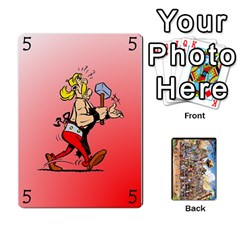 Queen Asterix Battleline Deck1 By Alvise Fiume   Playing Cards 54 Designs   2ehiiyn5dw86   Www Artscow Com Front - ClubQ