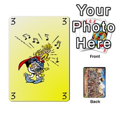 Asterix Battleline Deck2 By Alvise Fiume   Playing Cards 54 Designs   585aoul8nunn   Www Artscow Com Front - Spade4