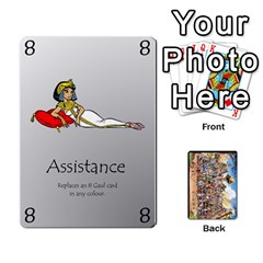 Queen Asterix Battleline Deck2 By Alvise Fiume   Playing Cards 54 Designs   585aoul8nunn   Www Artscow Com Front - HeartQ