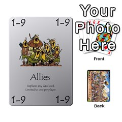 Asterix Battleline Deck2 By Alvise Fiume   Playing Cards 54 Designs   585aoul8nunn   Www Artscow Com Front - Diamond6