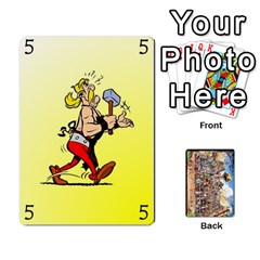 Asterix Battleline Deck2 By Alvise Fiume   Playing Cards 54 Designs   585aoul8nunn   Www Artscow Com Front - Spade6
