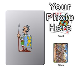 Asterix Battleline Deck2 By Alvise Fiume   Playing Cards 54 Designs   585aoul8nunn   Www Artscow Com Front - Club10
