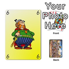 Asterix Battleline Deck2 By Alvise Fiume   Playing Cards 54 Designs   585aoul8nunn   Www Artscow Com Front - Spade7