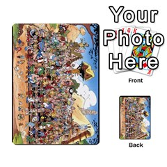Asterix Battleline Deck2 By Alvise Fiume   Playing Cards 54 Designs   585aoul8nunn   Www Artscow Com Back
