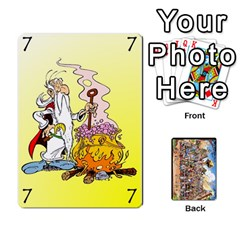 Asterix Battleline Deck2 By Alvise Fiume   Playing Cards 54 Designs   585aoul8nunn   Www Artscow Com Front - Spade8