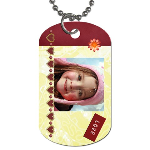 Sage   For Mawmaw & Poppop By Tammy Baker   Dog Tag (one Side)   Dytsk4jen496   Www Artscow Com Front
