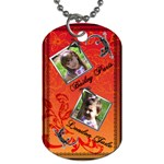 girls dogtag2 - Dog Tag (One Side)