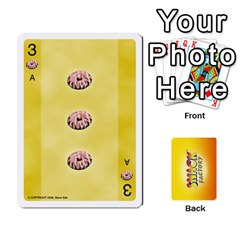 2010 Snack Factory By Steve Sisk   Playing Cards 54 Designs   S8wpjoc9g551   Www Artscow Com Front - Spade3