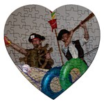 My Pirates - Jigsaw Puzzle (Heart)