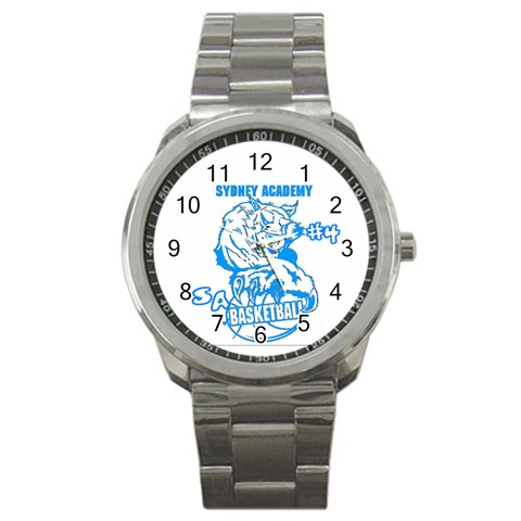 Mens Watch For Justin By Jean Guy Demeter   Sport Metal Watch   8iehg3r1587o   Www Artscow Com Front