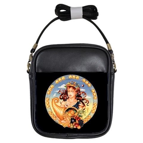 Zodiac Virgo Girls Sling Bag By Enkay   Girls Sling Bag   Gl25d3bd0fy5   Www Artscow Com Front