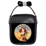 zodiac Virgo girls sling bag