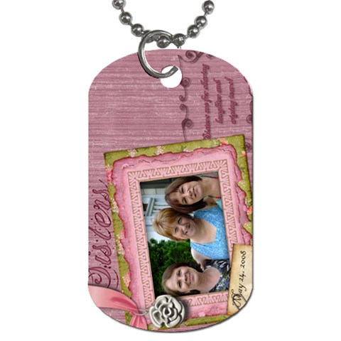 By James Mccullough   Dog Tag (one Side)   Tziy1qq1rhz5   Www Artscow Com Front