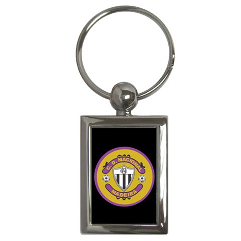 Nacional Keychain By Vitor Ribeiro   Key Chain (rectangle)   Y8889hib2p77   Www Artscow Com Front