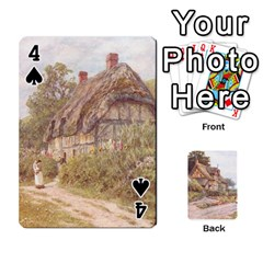 Helen Allington By Helen Norton By Helen   Playing Cards 54 Designs   B8uglnmor4y8   Www Artscow Com Front - Spade4