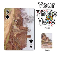 Helen Allington By Helen Norton By Helen   Playing Cards 54 Designs   B8uglnmor4y8   Www Artscow Com Front - Spade5