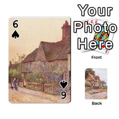 Helen Allington By Helen Norton By Helen   Playing Cards 54 Designs   B8uglnmor4y8   Www Artscow Com Front - Spade6