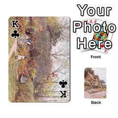 King Helen Allington By Helen Norton By Helen   Playing Cards 54 Designs   B8uglnmor4y8   Www Artscow Com Front - ClubK