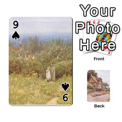 Helen Allington By Helen Norton By Helen   Playing Cards 54 Designs   B8uglnmor4y8   Www Artscow Com Front - Spade9
