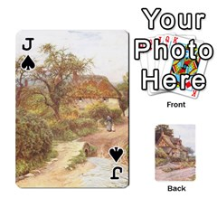 Jack Helen Allington By Helen Norton By Helen   Playing Cards 54 Designs   B8uglnmor4y8   Www Artscow Com Front - SpadeJ