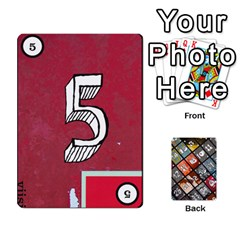 Geschenkt By Bob Menzel   Playing Cards 54 Designs   71xy9lqoj9np   Www Artscow Com Front - Spade6