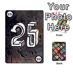 Geschenkt By Bob Menzel   Playing Cards 54 Designs   71xy9lqoj9np   Www Artscow Com Front - Club3