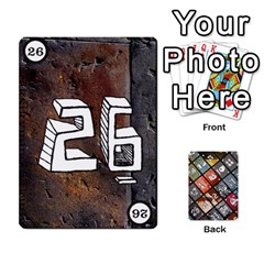 Geschenkt By Bob Menzel   Playing Cards 54 Designs   71xy9lqoj9np   Www Artscow Com Front - Club4