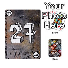 Geschenkt By Bob Menzel   Playing Cards 54 Designs   71xy9lqoj9np   Www Artscow Com Front - Club5