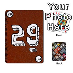 Geschenkt By Bob Menzel   Playing Cards 54 Designs   71xy9lqoj9np   Www Artscow Com Front - Club7