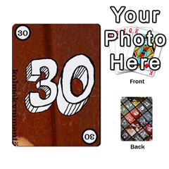 Geschenkt By Bob Menzel   Playing Cards 54 Designs   71xy9lqoj9np   Www Artscow Com Front - Club8