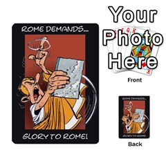 These Romans Are Crazy D1 By Ben   Multi Purpose Cards (rectangle)   Ud1g8vovq8ca   Www Artscow Com Back 1