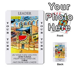 These Romans Are Crazy D1 By Ben   Multi Purpose Cards (rectangle)   Ud1g8vovq8ca   Www Artscow Com Front 6