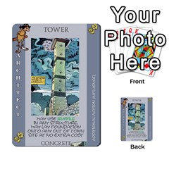 These Romans Are Crazy D1 By Ben   Multi Purpose Cards (rectangle)   Ud1g8vovq8ca   Www Artscow Com Front 5