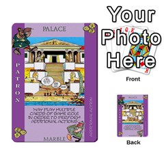 These Romans Are Crazy D1 By Ben   Multi Purpose Cards (rectangle)   Ud1g8vovq8ca   Www Artscow Com Front 47