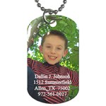 Dallin s Dog Tag - Dog Tag (Two Sides)