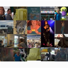 Ny State Fair 2009/kelly Clarkson Concert By Angela Fisher   Collage 8  X 10    G1wxaixbdq83   Www Artscow Com 10 x8 Print - 3
