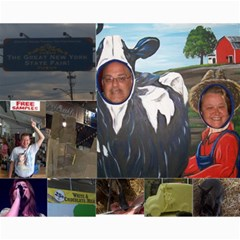 Ny State Fair 2009/kelly Clarkson Concert By Angela Fisher   Collage 8  X 10    G1wxaixbdq83   Www Artscow Com 10 x8 Print - 4